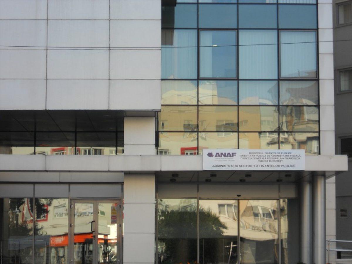 Sediu provizoriu pentru Administraţia Financiară a Sectorului 1
