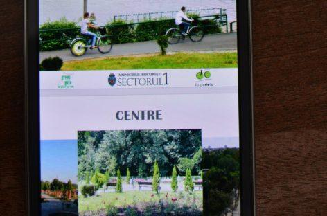 Alegerea traseului cu bicicleta, de pe telefonul mobil
