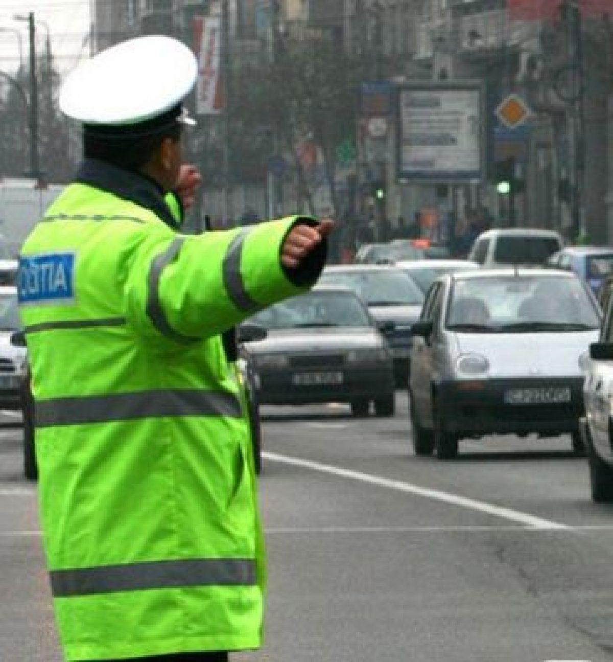 Traficul rutier din București, blocat sâmbătă și duminică