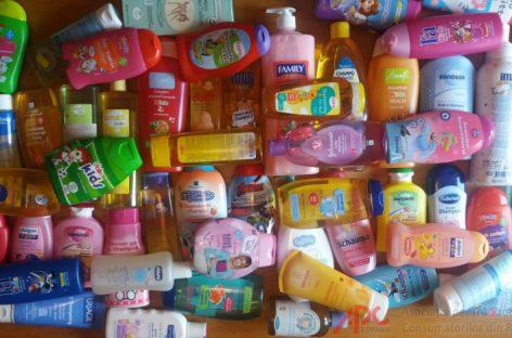 Studiu: Șampoane pentru bebeluși cu potențial cancerigen