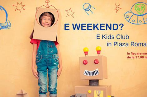 "Distracţie și muzică cu ""Kids Club – Saturday Show"""