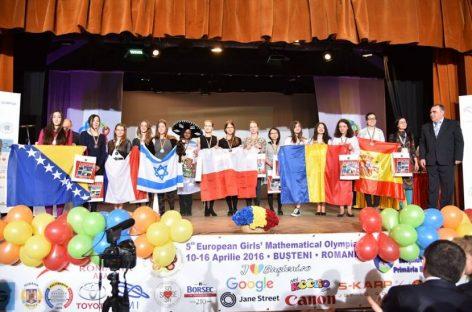 8 medalii la Olimpiada de Matematică pentru Fete