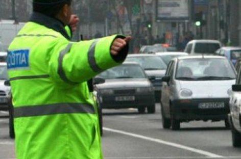 Trafic restricţionat în Bucureşti