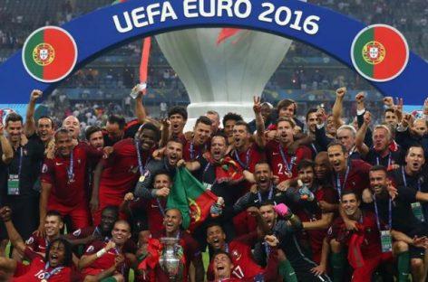 Portugalia, noua campioană a Europei