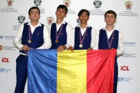Patru medalii la Olimpiada Internaţională de Informatică