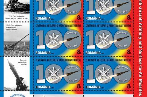 Arme şi rachete, pe timbre