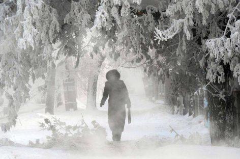 Atenţionare meteo: Trei zile de ger năprasnic în toată România