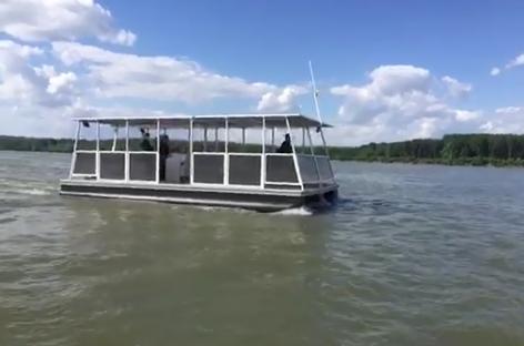 Transport eco pe Dunăre/Gratuitate pentru persoane între Călăraşi şi Silistra
