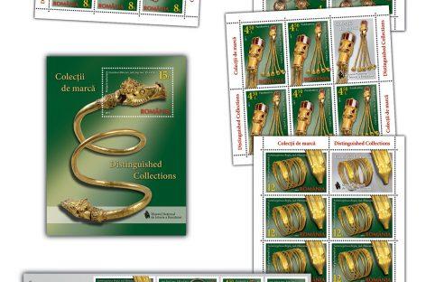 Emisiune filatelică. Bijuteriile antice şi lumea timbrelor