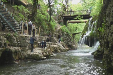 Turism. Cascada Bigăr poate fi vizitată în siguranţă