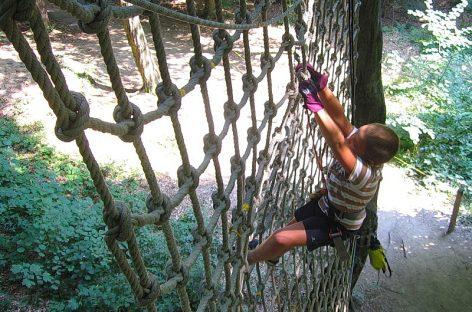 Parc Aventura Herăstrău, distracţie şi sport la cote maxime