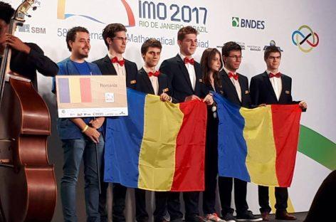 Şase premii pentru România la Olimpiada  Internaţională de Matematică