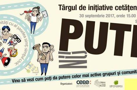 Târgul Iniţiativelor Civice, un spaţiu al ideilor de solidaritate umană
