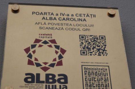 Promovarea turistică în Alba Iulia, cu ajutorul codurilor QR