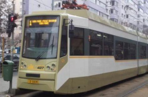 Modificări de trasee linii de tramvai în sudul Capitalei