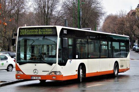 Suprize pentru turişti. Autobuze noi între Braşov şi Poiana Braşov