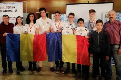 Şapte medalii la Turneul Internaţional de Informatică Shumen 2018
