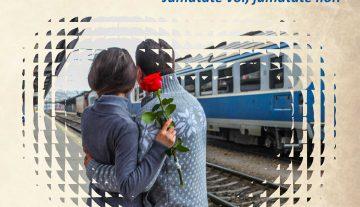 """""""Jumătate voi, jumătate noi!"""" Reduceri la biletele CFR de Valentine`s Day și Dragobete"""