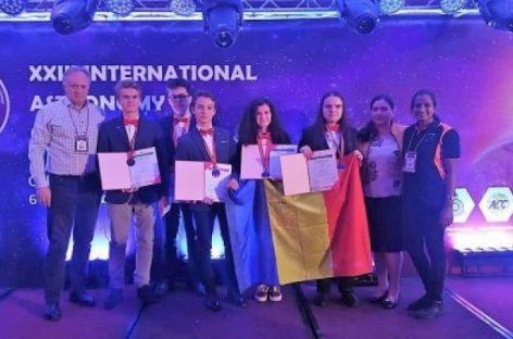 Cinci medalii la Olimpiada Internaţională de Astronomie 2018