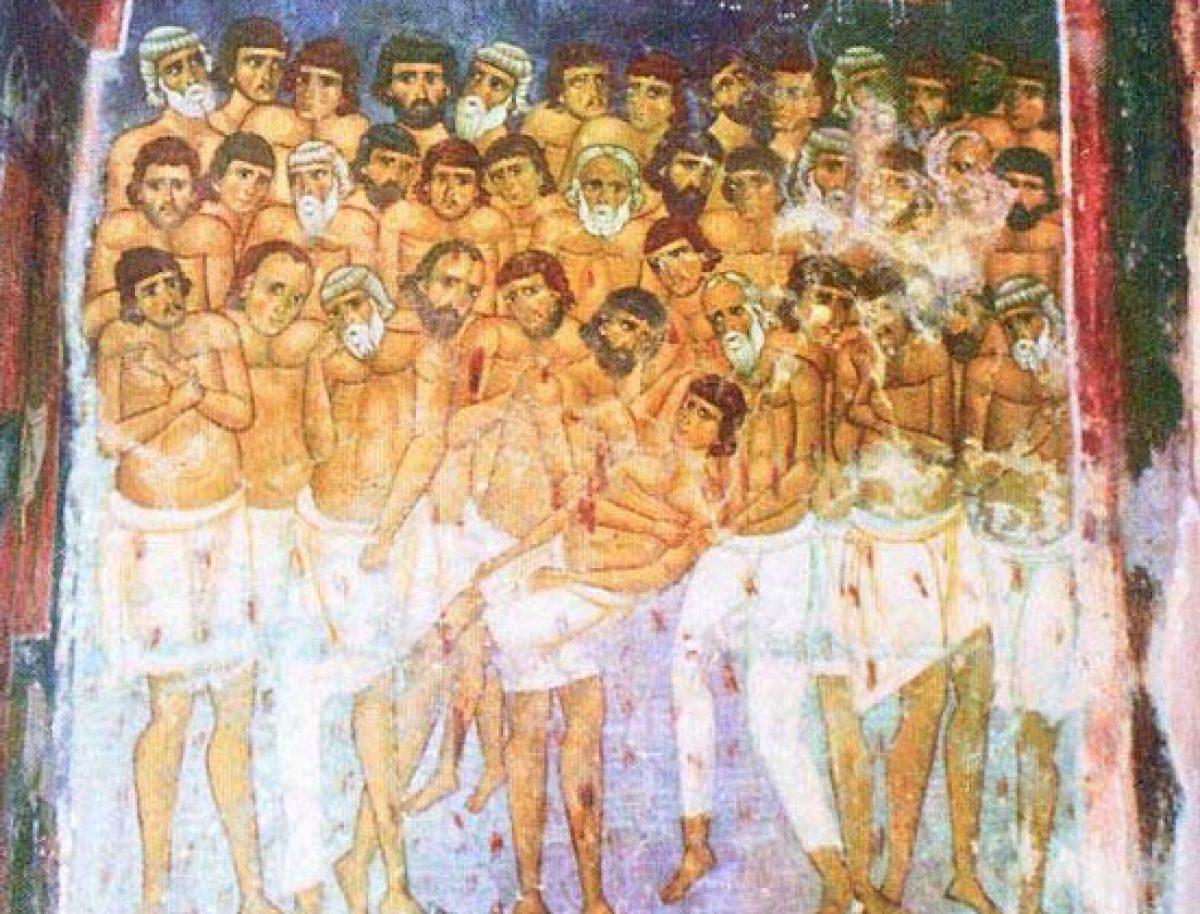 Tradiţii. Cei 40 de Mucenici din Sevastia