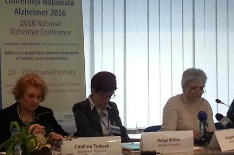 Conferinţa Naţională Alzheimer: de la educaţie la prevenţie