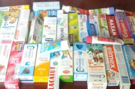 Peste 60 % din pasta de dinți pentru copii este periculoasă