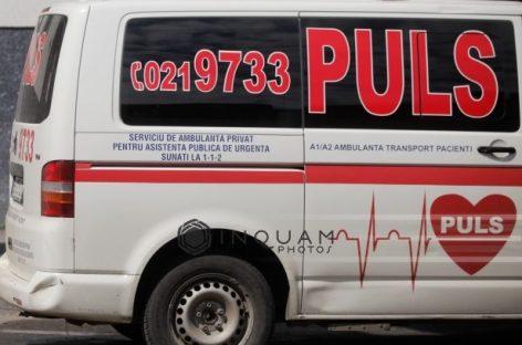 Ambulanţele PULS, suspendate 30 de zile
