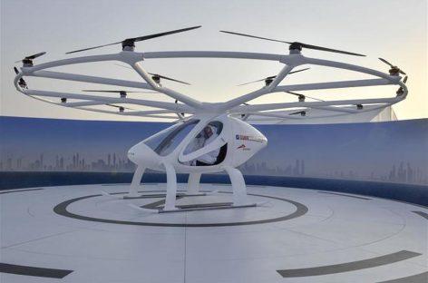 Primul taxi zburător din lume a fost prezentat la Dubai