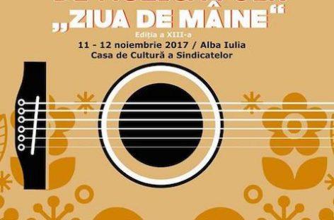 """Festivalul naţional de folk """"Ziua de mâine"""", pe 11 şi 12 noiembrie, în Alba Iulia"""