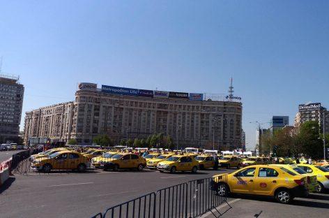 Taximetriştii ies în stradă pe 13 decembrie