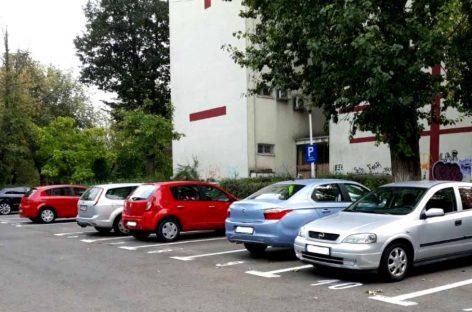 Locurile de parcare libere din Sectorul 3, publicate pe etape