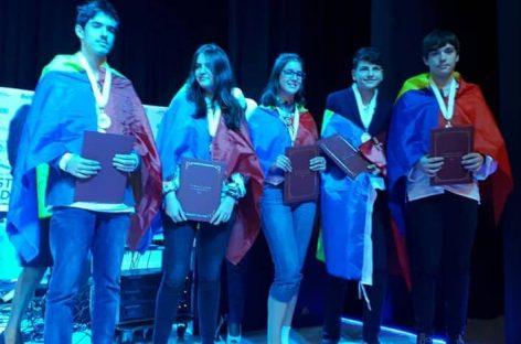 Şase medalii la Olimpiada Internaţională de Ştiinţe pentru Juniori 2018