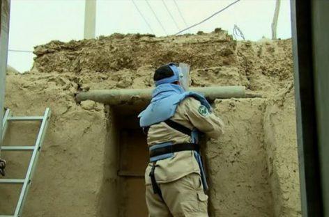 Ce material inedit s-a folosit în Afganistan la construcţia caselor?